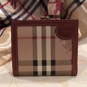 """AUTHENTIC, """"BURBERRY"""" WALLET"""